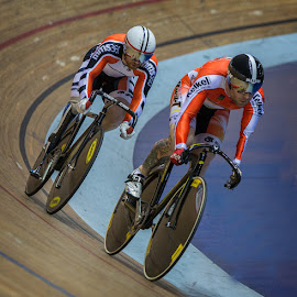 paralympic riders by Lee Sutton - Sports & Fitness Cycling