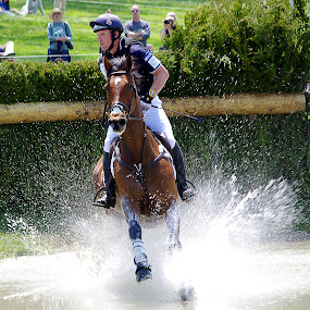 Splash! by Jenny Gandert - Sports & Fitness Other Sports ( caballo, eventing, equine, cavallo, horse, cross country, sport, rolex )
