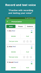 App English Pronunciation APK for Windows Phone