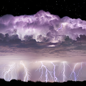 Tempest by Craig Bill - Landscapes Weather ( lightning, long exposure, supercell, storm, tornado,  )