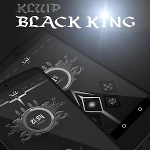 Klwp Black King app for android
