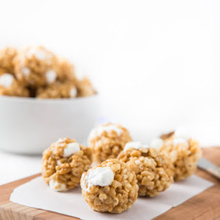 Cookie Butter Rice Krispie Balls
