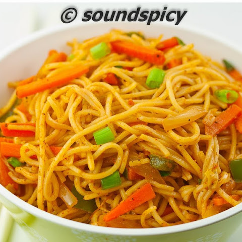 Spicy Curry Noodles