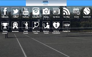 Screenshot of USTA Florida