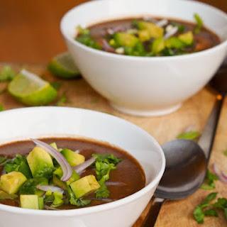 Gluten Free Vegan Black Bean Soup Recipes