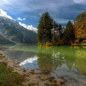 Lago del Predil by Boštjan Peterka - Landscapes Mountains & Hills