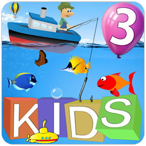 12 educational and fun games for kids: numbers, animals, paint, puzzle... APK Icon