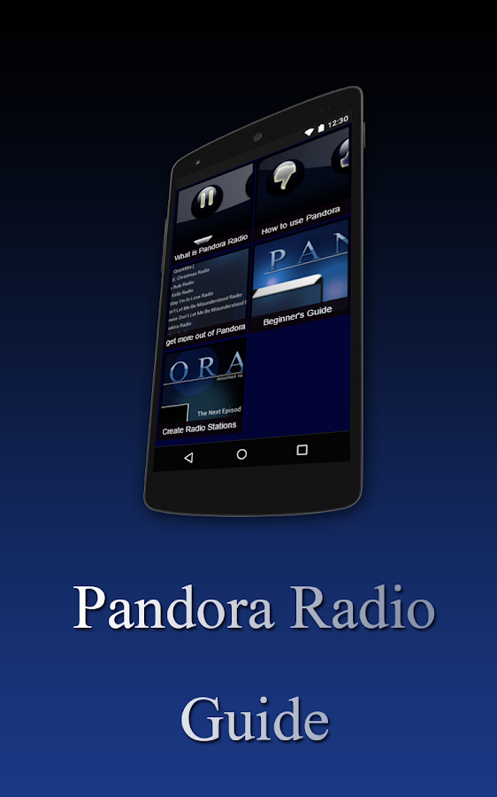 Free Pandora Radio Guide Screenshot