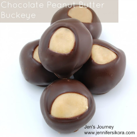 Chocolate Peanute Butter Buckeye Candy