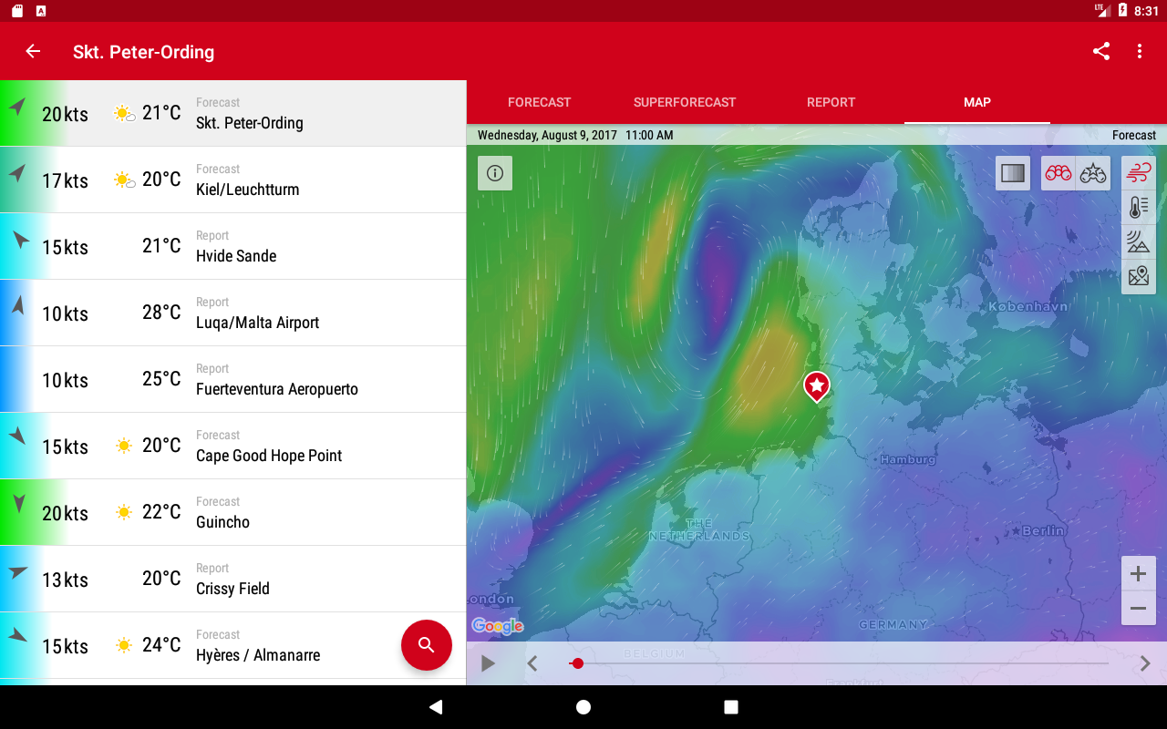 Windfinder Pro Screenshot 13