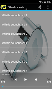 Whistle Sounds - screenshot