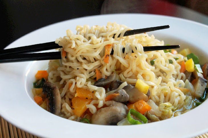 recipe easy ramen vegetable and  Quick Easy Soup Recipe with a Vegetable Noodle  Yummly Ramen