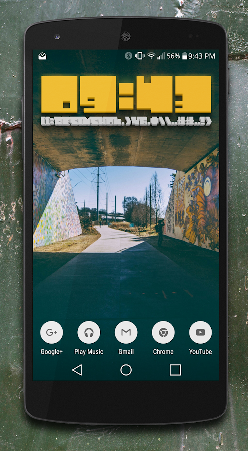 Kube Zooper widget pack Screenshot 1