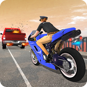 Crime Police Bike Chase - Moto City Rider 2019 For PC / Windows 7/8/10 / Mac – Free Download