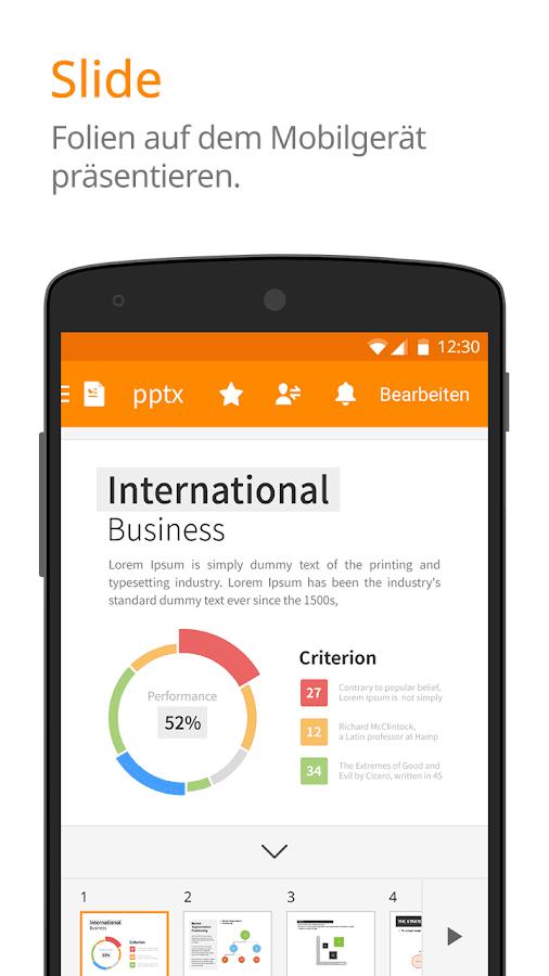 Polaris Office - Word, Docs, Sheets + PDF Reader – Screenshot