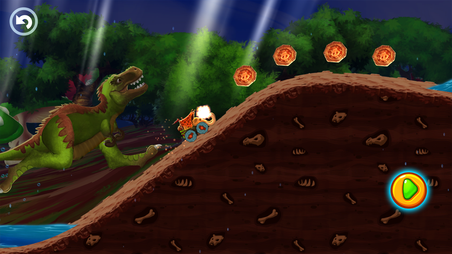 Fun Kid Racing Prehistoric Run Screenshot 14