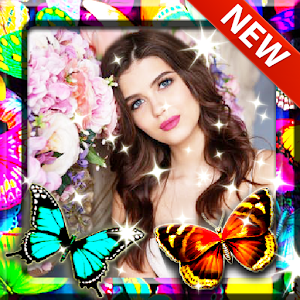 Butterfly Photo Frame for PC-Windows 7,8,10 and Mac