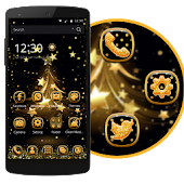 Free Gold Tree Happy Theme APK for Windows 8