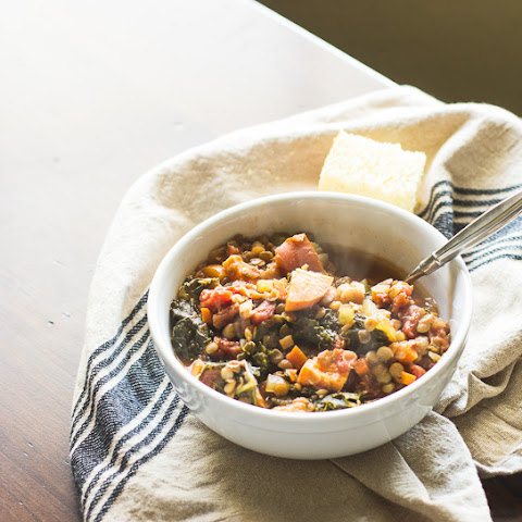 Thanksgiving Leftover Lentil Soup