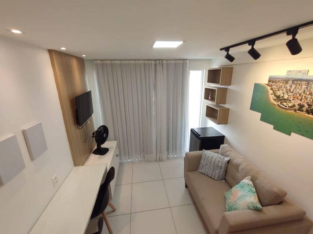 Excelente Flat mobiliado à venda, 30 m² por R$ 350.000 - Tambaú - João Pessoa/PB
