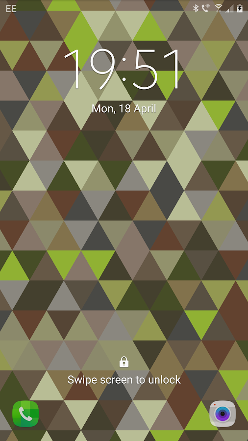 Triangles Live Wallpaper Screenshot 0