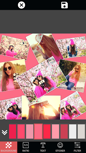 Collage Photo Maker Pic Grid screenshot 21