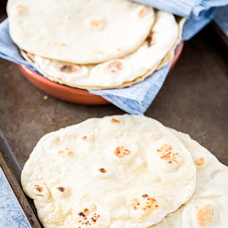 Easy, Homemade, Vegan & Yeast-Free Flatbread