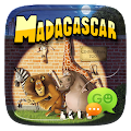 (FREE) GO SMS MADAGASCAR THEME APK for Bluestacks
