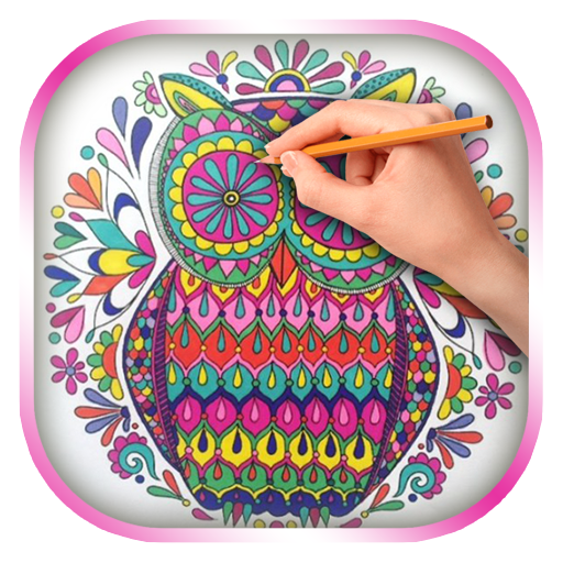 Owls Coloring Book for Adults (app)