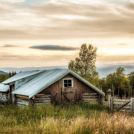 A scene from an old mountain farm  by Thorbjorn Liell - Buildings & Architecture Decaying & Abandoned ( old house, farm, tolga, decay, norway )