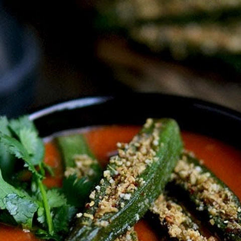 Stuffed Okra Curry