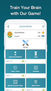 Math Exercises for the brain, Puzzles Math Game for pc