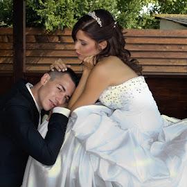 Tenteff by Ingrid Vasas - Wedding Bride & Groom ( tenteff )