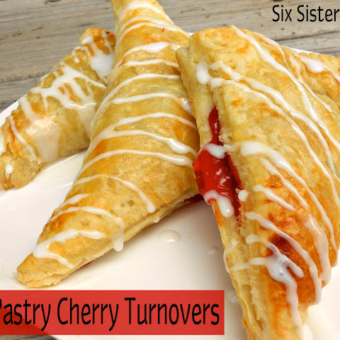 Puff Pastry Cherry Turnovers