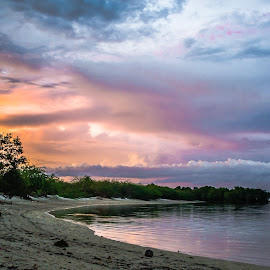 Uninhabited by Ynon Francisco - Landscapes Beaches ( clouds, sand, dunes, relax, calatagan, shrub, sea, forest, vegetation, batangas, tides, mangroves, sky, dawn, tree, burot, shoreline, sunrise, rocks, philippines )