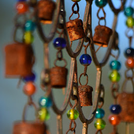 when the wind blows by Tracey Doak - Novices Only Objects & Still Life ( music, wind, windchime, depth of field, windchimnes )
