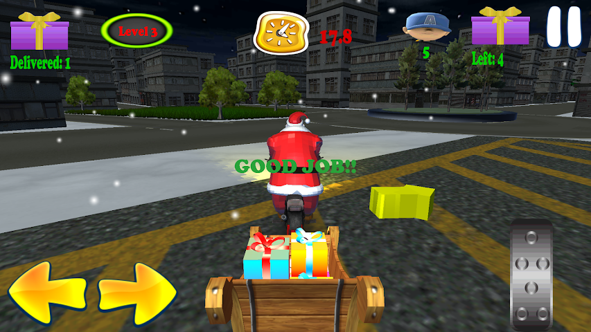 android Santa Rider Screenshot 4