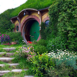 Hobbit Home by Marsha Sices - Buildings & Architecture Homes ( photo stream,  )