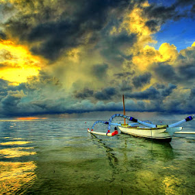 Boat by Keril Doank - Transportation Boats