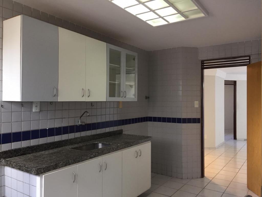 Apartamento com 3 dormitórios para alugar, 135 m² por R$ 1.600/mês - Manaíra - João Pessoa/PB