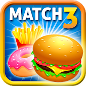 Match 3 Burger: Delicious Food APK for Bluestacks