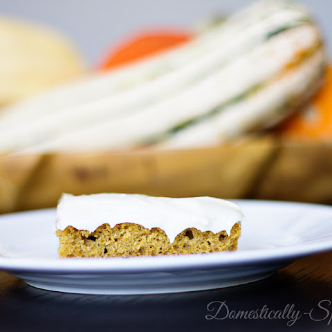 Pumpkin Spice Bars…