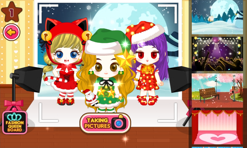 android Fashion Judy: Christmas style2 Screenshot 2