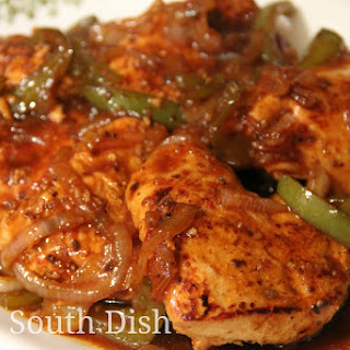 Honey Sweet Pepper Chicken Breasts