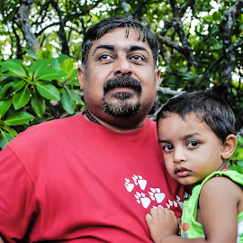 With my son..! by Anoop Namboothiri - People Family