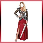 Medieval Women Costume Frames APK for Bluestacks