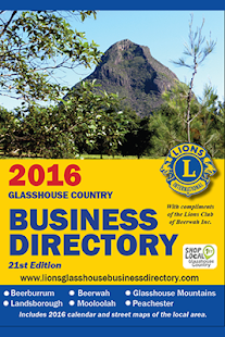 Lions Business Directory 2016 - screenshot