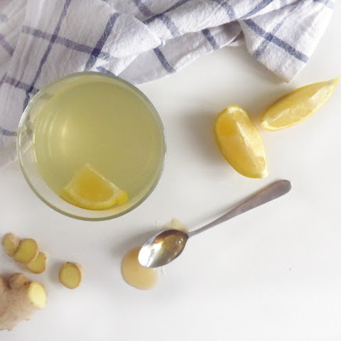Ginger Lemon Honey Water Hot
