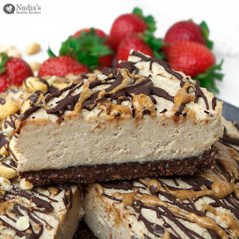 Vegan Peanut Butter Cheesecake