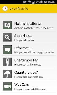 IoNonRischio - screenshot